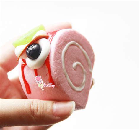 Squishy Licensed Panda Swissroll Original Promo squishy swissroll log cake with fruits and icing 183 uber