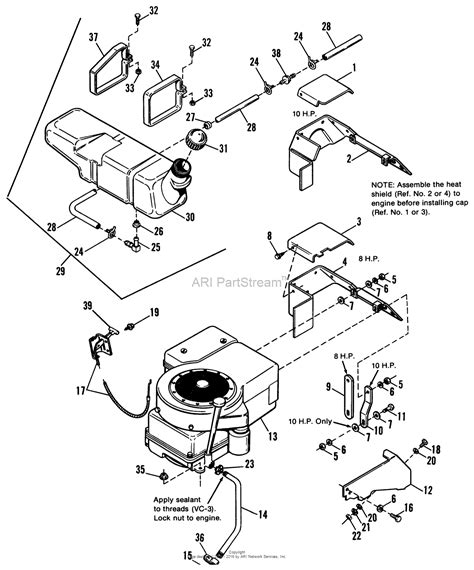 simplicity 1691631 3108 rear engine rider parts diagram