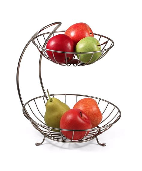 fruit rack aliexpress buy 2017 new home decor 2 tiers stainless