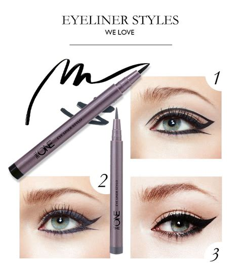 Eyeliner Stylo Oriflame what s your favourite way to apply eye liner with the one