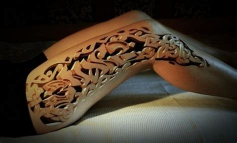 3d tattoo girl leg leg tattoos and designs page 129