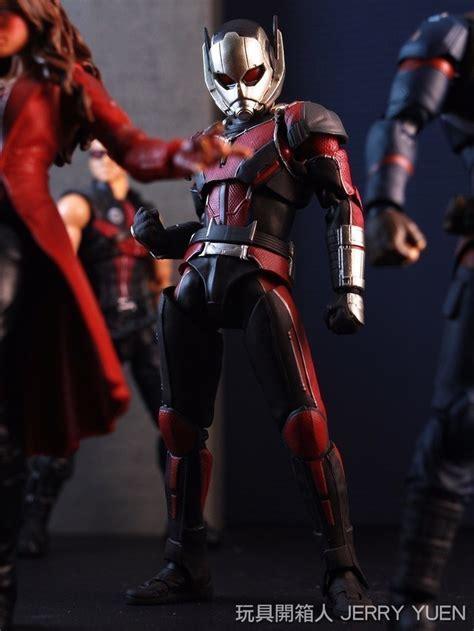 Shf Ant Ant Civil War Ori 開箱玩評 s h figuarts ant civil war 玩具人toy news