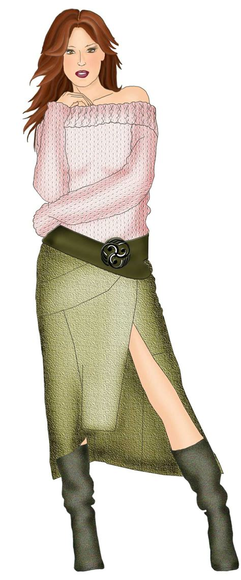 wrap sewin asymmetrical skirt with wrap sewing pattern 5341 made