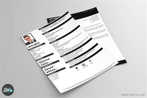 creative resume karma professional cover letter craftcv