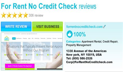 Apartments For Rent In With No Credit Check Best Second Chance Apartments Choices Testimonials