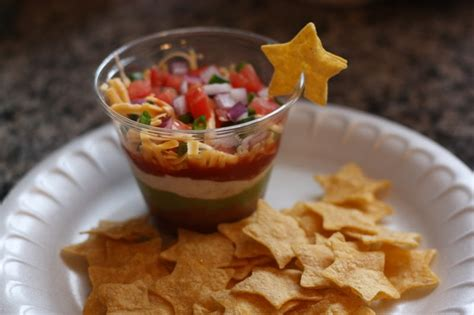 christy july 4th 7 layer picnic dip to go