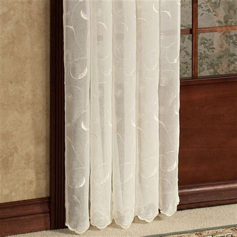 hathaway curtains hathaway semi sheer window treatment