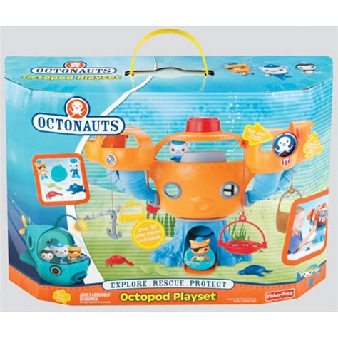 the octonauts underwater adventures box set books octonauts octopod playset from fisher price wwsm
