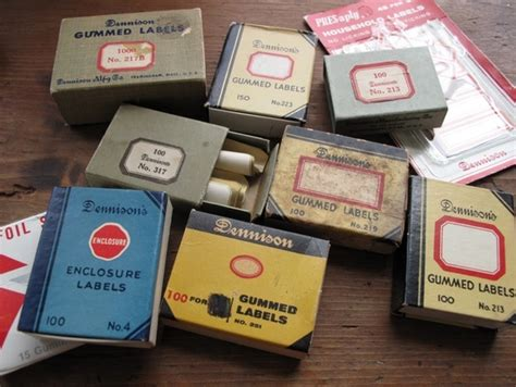 dennison labels templates printable vintage gummed labels inspired by dennison