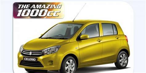 Suzuki Mobil Indonesia Price List Spekfikasi Suzuki Celerio Indonesia Price List Suzuki
