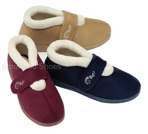 velcro slippers for the elderly wide fitting slippers for the elderly 28 images s