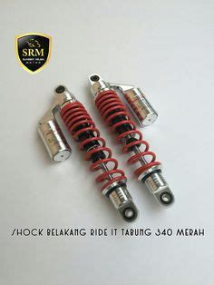 Daytona Shock Suspensi 320mm Merah monoshock willwood mio beat vario merah idr 150 000 pcs suspensi