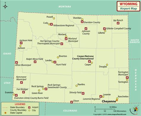 map of wyoming usa pics
