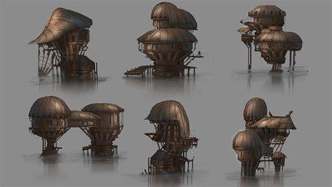 Stilt House Designs hut designs by jarkuzy on deviantart