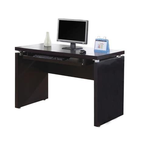 computer credenza desk wood computer credenza desk in cappuccino i 7003