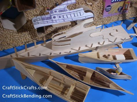 stick boat the gallery for gt popsicle stick boat for kids