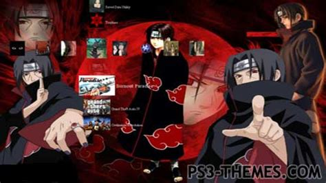 ps3 themes of naruto ps3 themes 187 search results for quot itachi quot