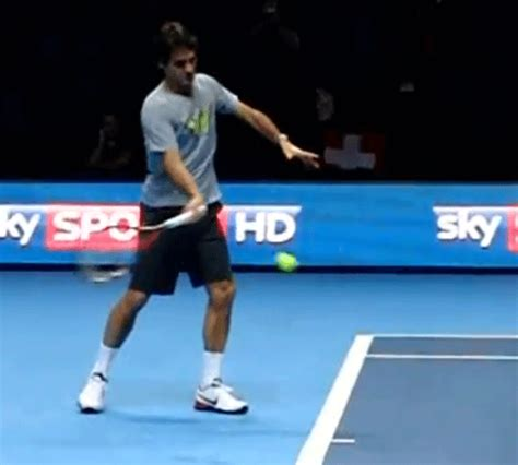 forehand swing forehand forward swing federer ftp tennisftp tennis