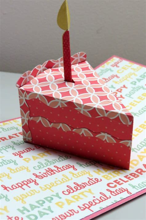 cake pop up card template pop up birthday card we r memory keepers