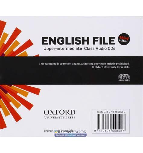 english file 3rd edition купить english file 3rd edition upper intermediate class audio cds