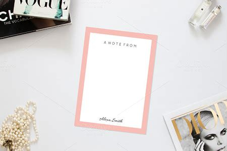 phlet note card design templates 10 note card templates print free premium templates