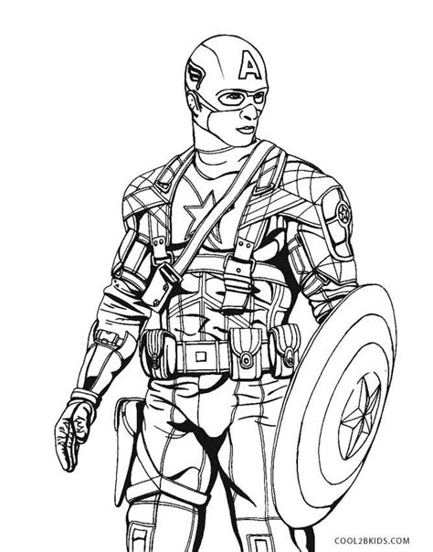 winter soldier coloring page free printable captain america coloring pages for kids