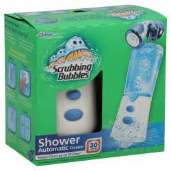scrubbing bubbles shower cleaner automatic 1kit food