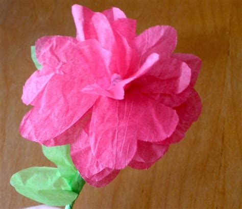 Make Tissue Paper Flowers - sarahndipities fortunate handmade finds things to make