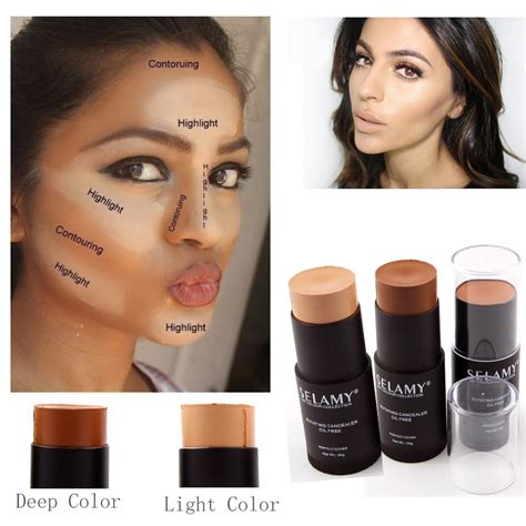 5 Blush On 2in1 Murah aliexpress buy selamy brand makeup bronzer