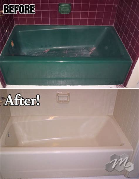 miracle bathtub refinishing bath tub refinishing miracle method