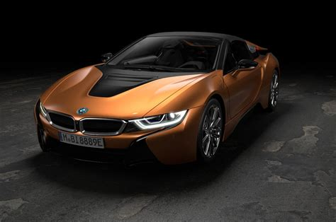Bmw I8 by 2019 Bmw I8 Roadster Updated I8 Coupe Debut In L A