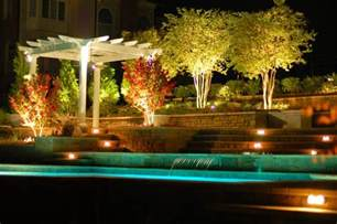 landscaping lights foundation dezin decor landscape garden water lights