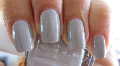 light grey nail grey nail matte opi light essie blue