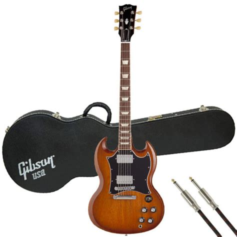 Gibson Lp Cery Free Softcase disc gibson sg standard limited electric guitar burst w gift at gear4music