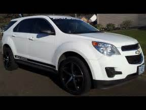 aftermarket wheels and decals on chevrolet equinox
