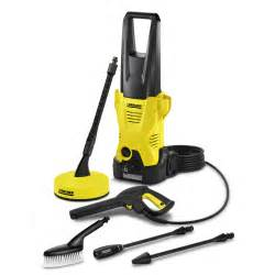karcher k2 400 pressure washer and t50 patio cleaner