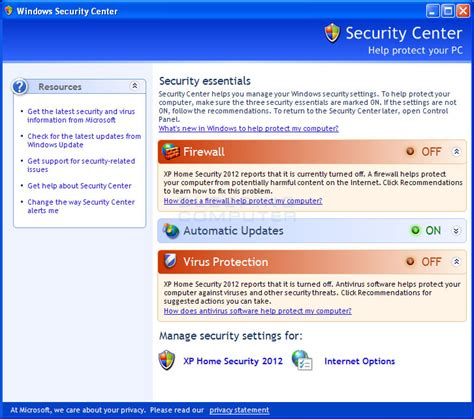 remove xp home security 2012 uninstall guide