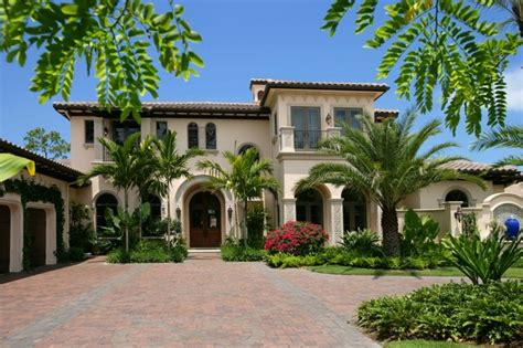 florida mediterranean homes private residence naples florida mediterranean