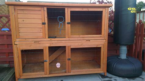 Rabbit Hutch Sale for sale 2 rabbit hutches newport newport pets4homes