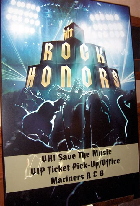 Rock On With The Vh1 Rock Honors Gift Bag by Concerts Concert Poster Paul Rodgers On