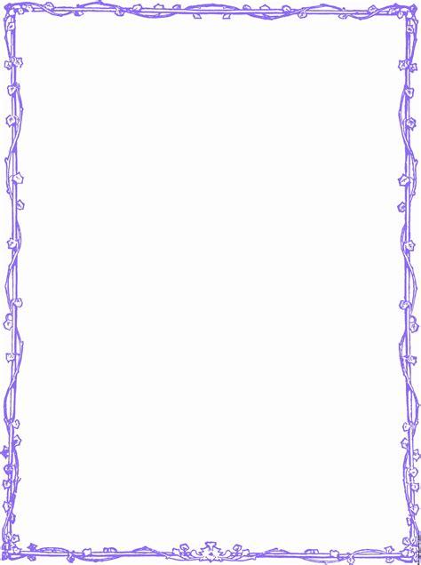free border purple vine leaf border