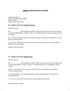 Certification Letter Format Example 7 Example Of Certification Letter Expense Report Template