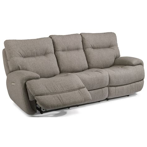 reclining sofa with fold down console flexsteel latitudes evian power reclining sofa with fold