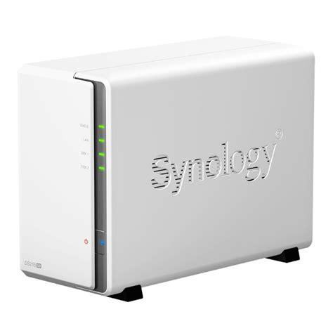 synology diskstation ds216se 8tb wd 2 bay nas server