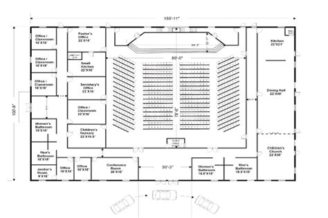 church fellowship floor plans small church floor plan designs