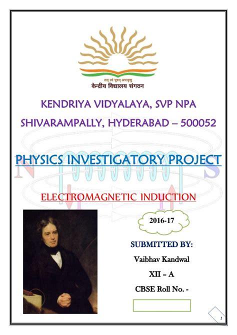 electromagnetic induction physics investigatory project electromagnetic induction physics investigatory project 28 images physics investigatory on