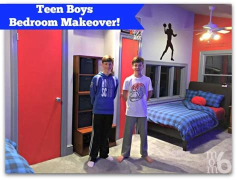 teen boys bedrooms teen boys bedroom makeover momof6