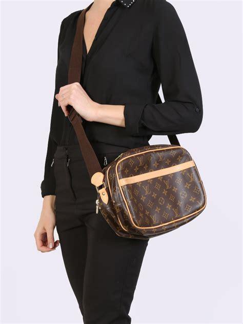 louis vuitton reporter pm monogram canvas luxury bags