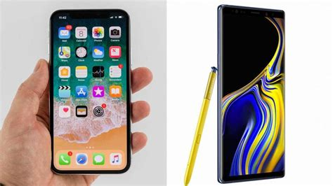 iphone x vs samsung galaxy note 9 comparison review macworld uk
