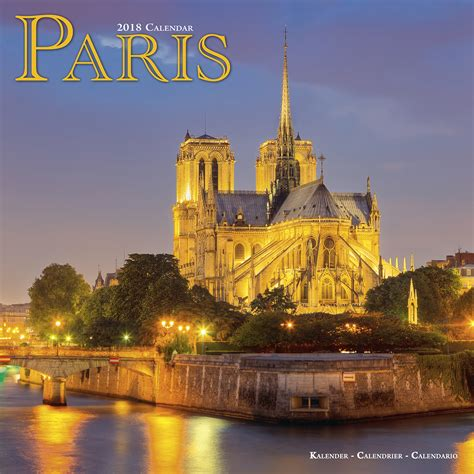 Paris Calendar 2018 Pet Prints Inc